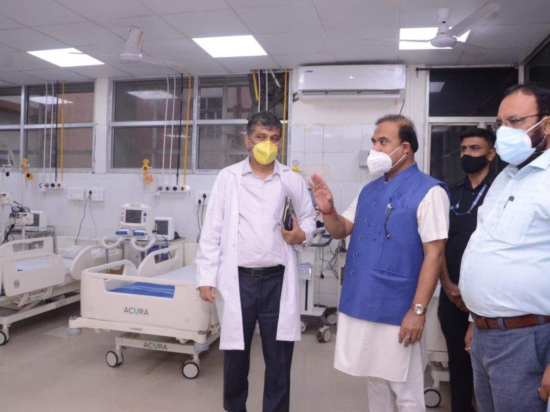 Assam govt will add 200 ICU beds at Guwahati's GMCH by June 15
