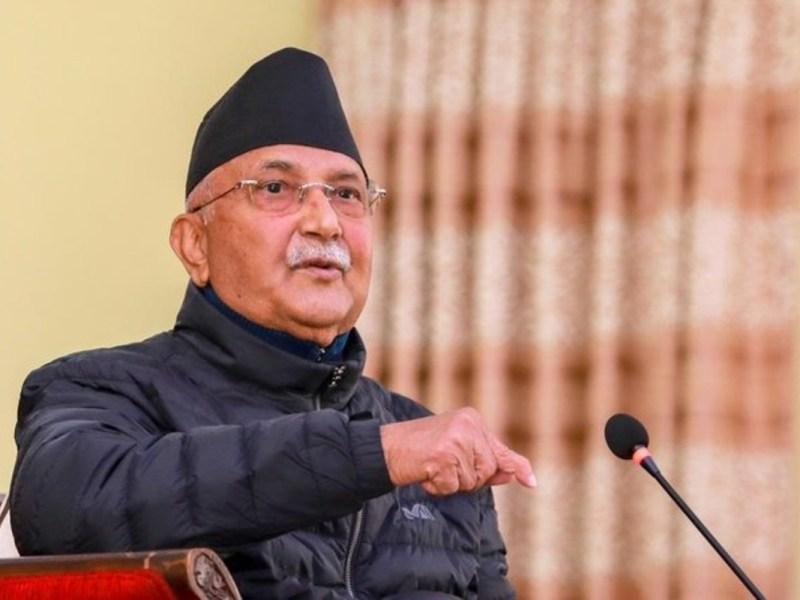 Nepal PM kp sharma oli