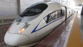 China-Tibet electric train
