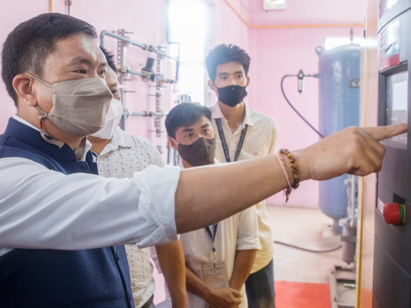 COVID-19: CM Pema Khandu inaugurates 2 new oxygen plants in Arunachal Pradesh