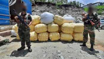 Manipur: Smuggled human hair worth over Rs 1 crore recovered in Tengnoupal