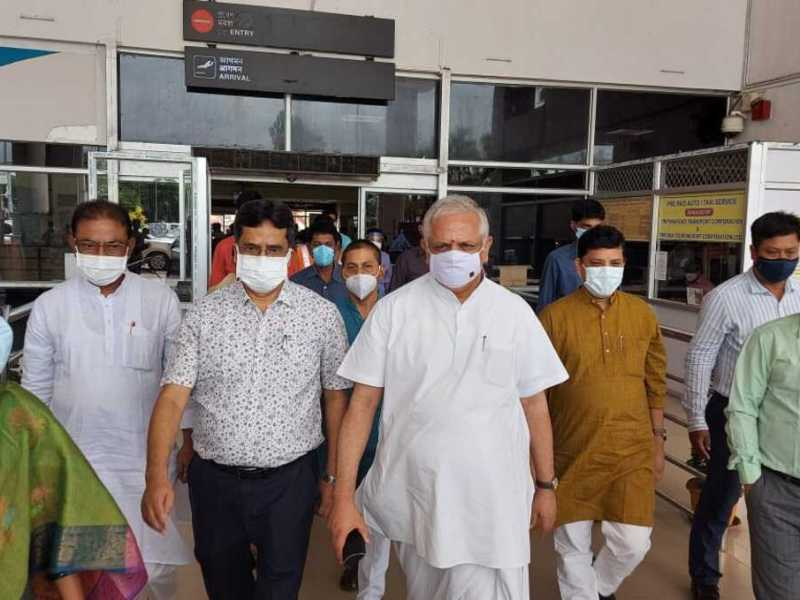 Tripura political crisis: Central BJP leaders arrive in state to resolve impasse