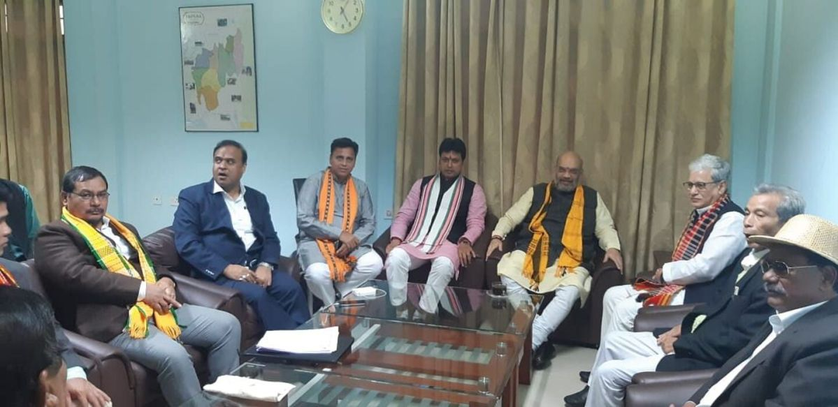 Tripura minister writes to Amit Shah over passage of 125th Constitution Amendment Bill
