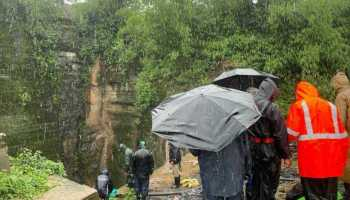 Meghalaya: Navy maps vertical shaft of flooded mine; 5 trapped for 15 days