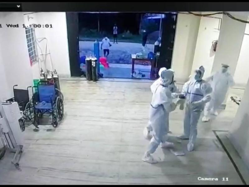 Manipur: Doctor suspended for manhandling nurse on duty at JNIMS COVID-19 ward