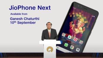 'JioPhone Next' to be most affordable smartphone: Ambani