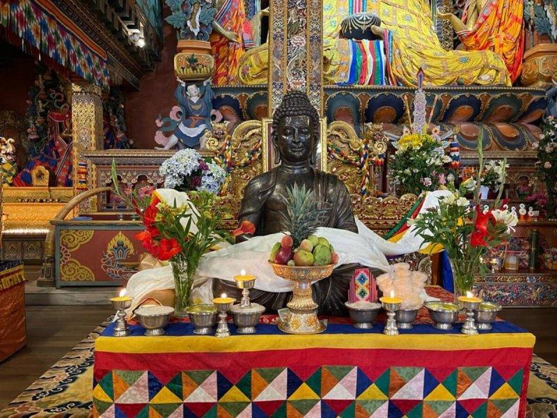 India gifts Lord Buddha statue to Bhutan on birth anniversary of Guru Rinpoche
