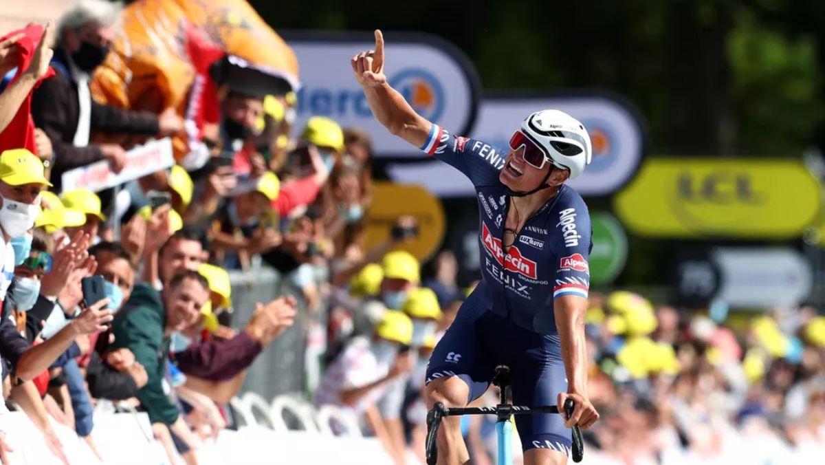 Tour de France 2021: Mathieu van der Poel wins Stage 2