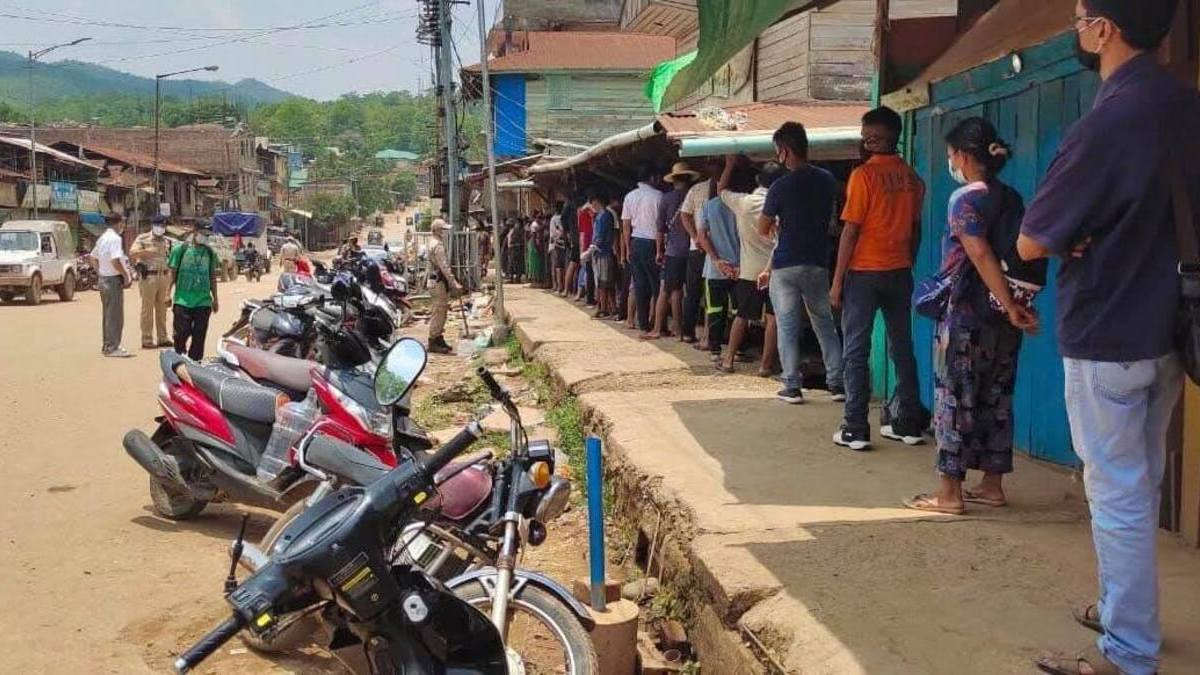 Manipur: 39 test COVID-19 positive during random testing in 3 districts