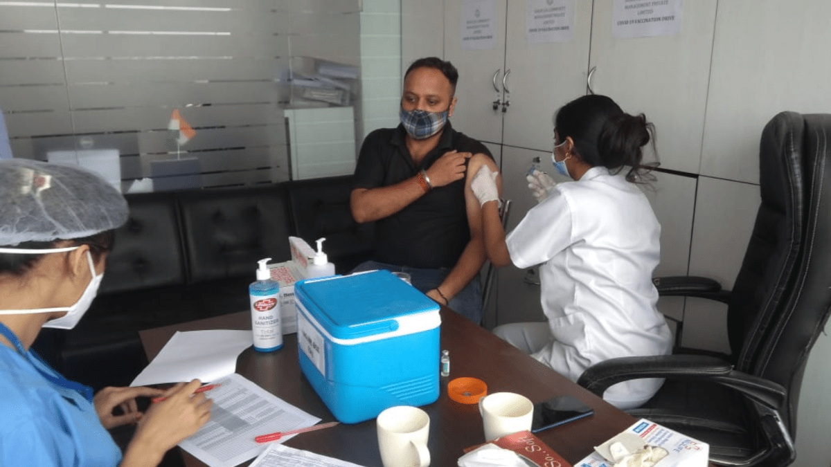 SLCM Group Organises COVID-19 vaccination drive for its employees
