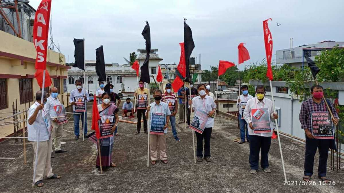 Tripura: Samyukta Kisan Morcha urges President to 'save agriculture, democracy'