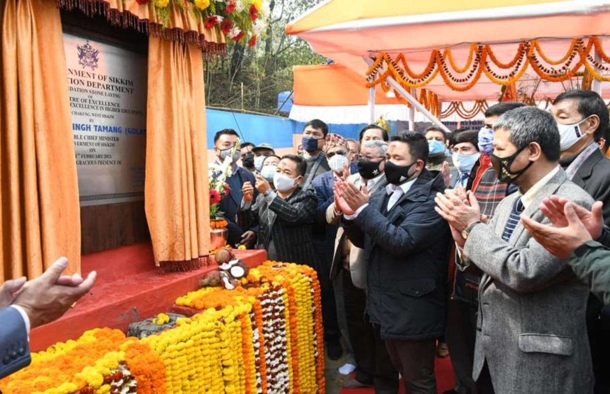 Sikkim centre of excellence inaugurated by CM PS Golay