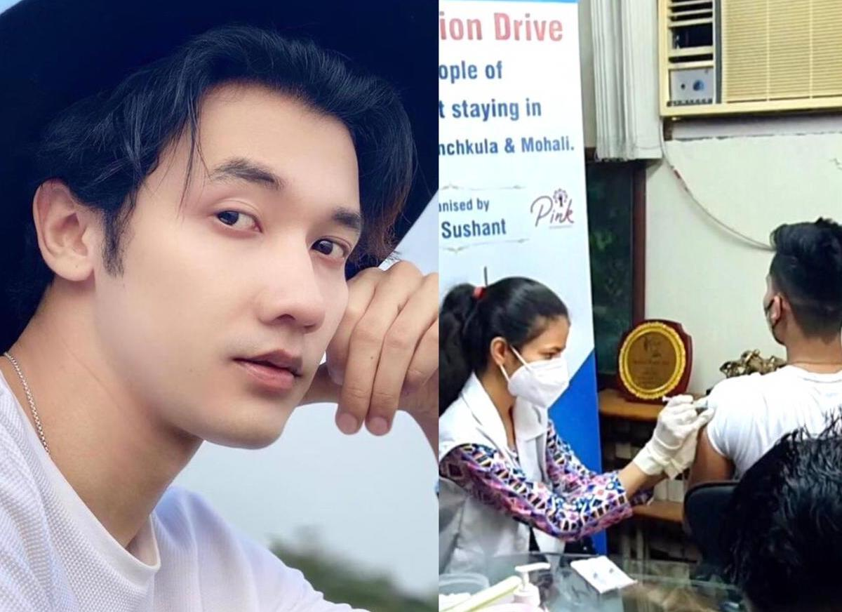 Manipur actor RK Sushant launches COVID vaccination drive for NE people in Punjab