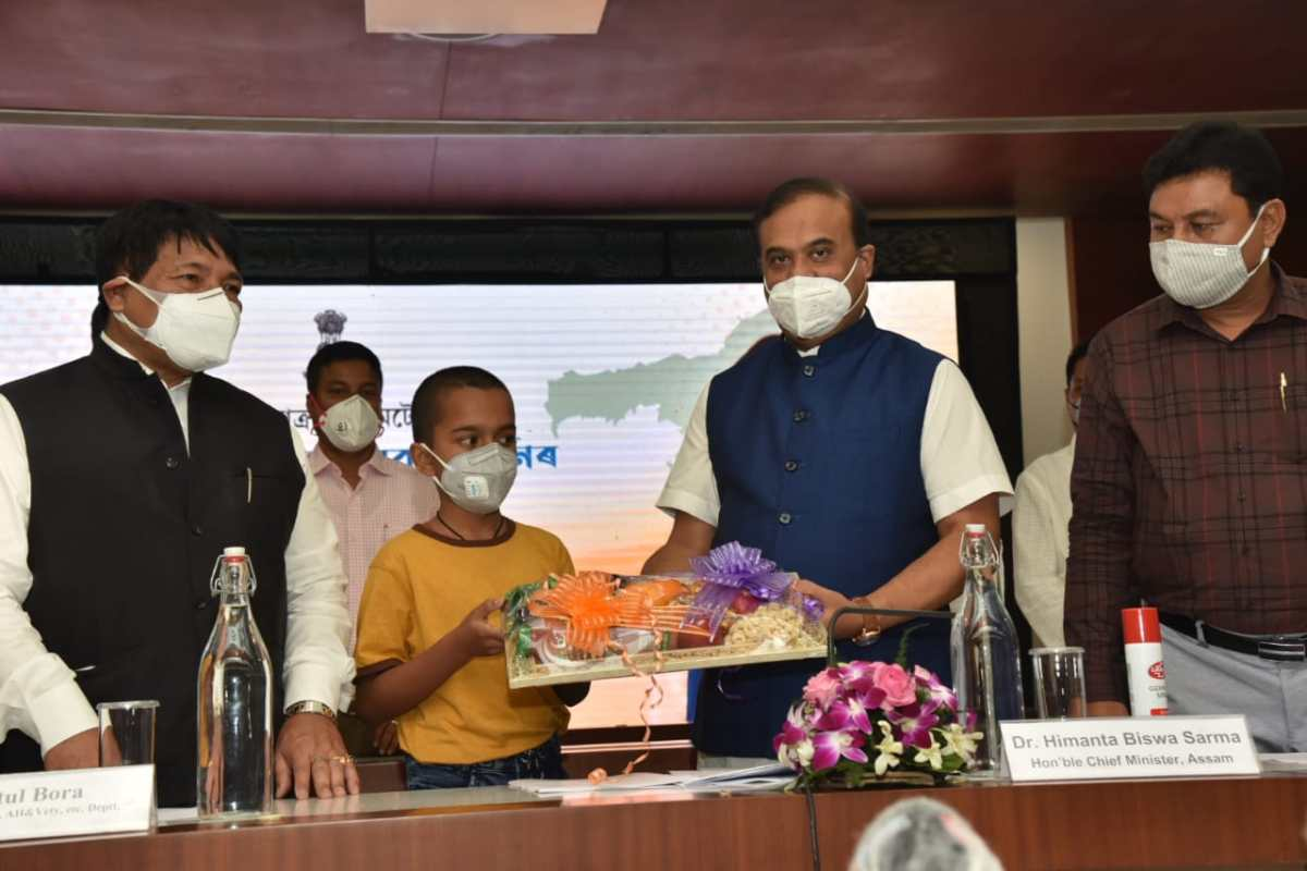 Sishu Seva Scheme will help beneficiary lead a life of dignity: Assam CM