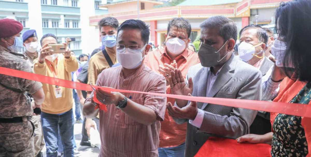 COVID-19: Sikkim CM inaugurates second oxygen plant at STNM Hospital