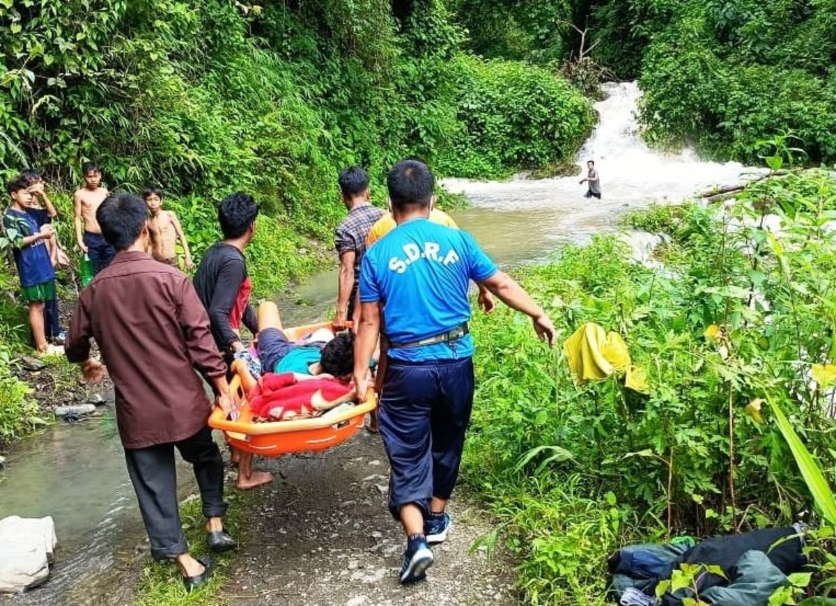 Arunachal landslide