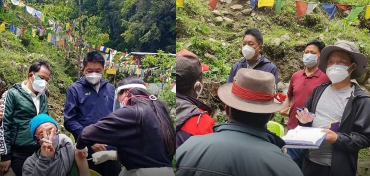 COVID-19: Officials brave hilly terrain, vaccine hesitancy to inoculate remote India