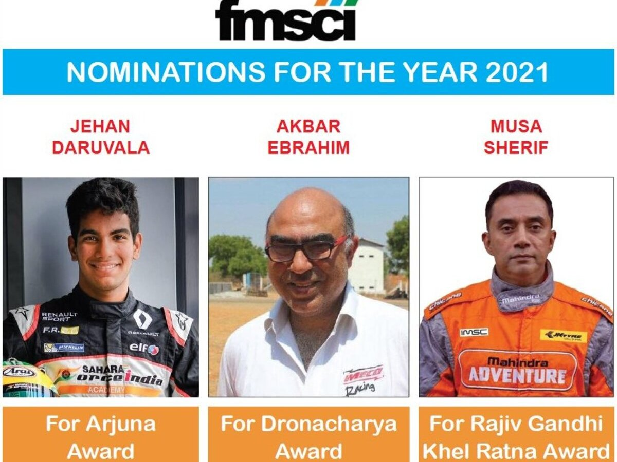 India's motor sports body 'nominates' own president for Dronacharya Award