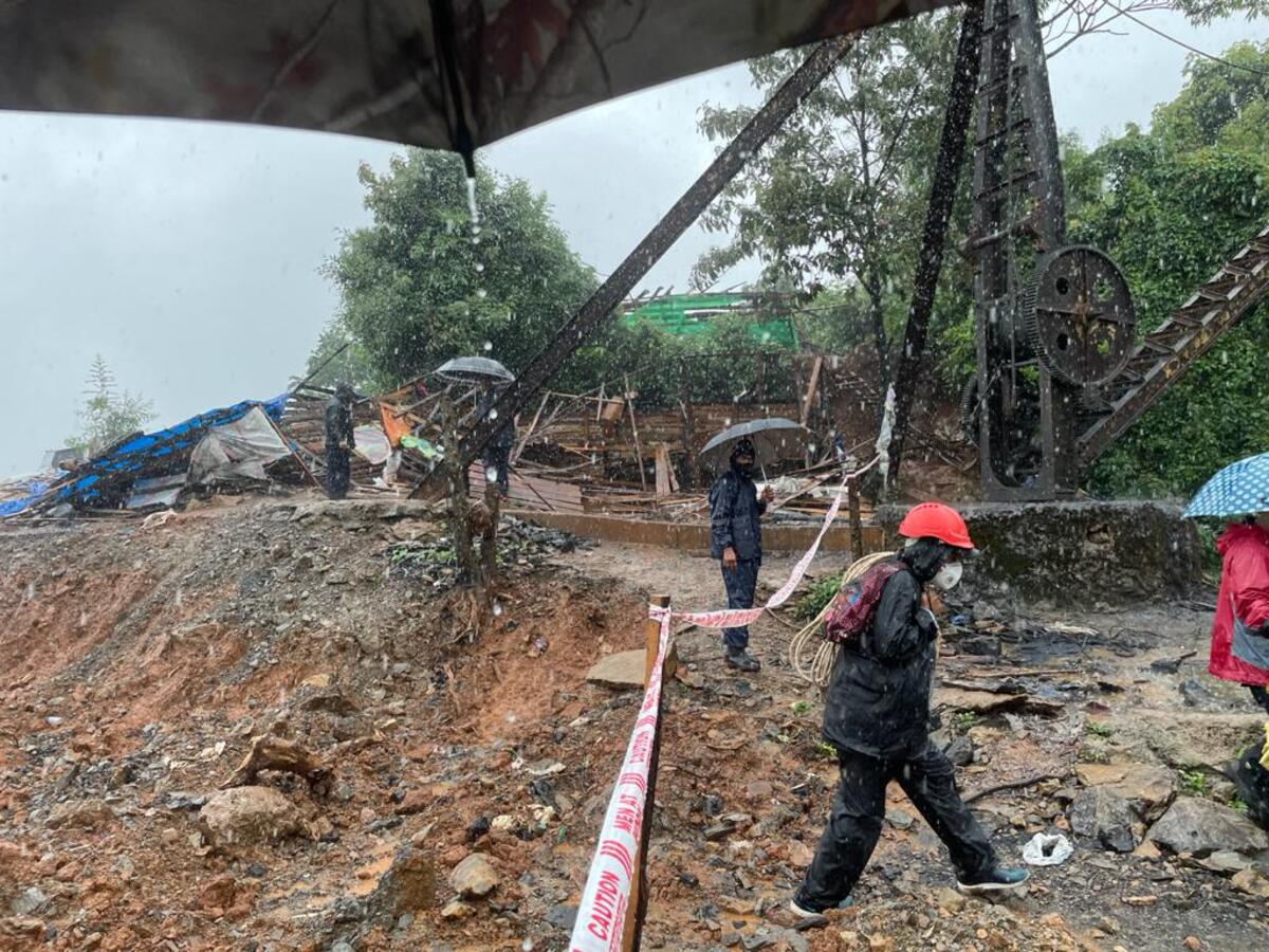 Rescue operation for trapped miners in Meghalaya called off due to rain