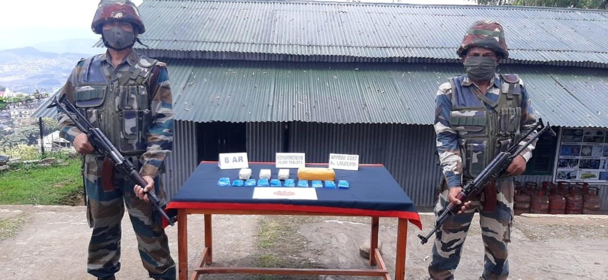 Mizoram meth tablets
