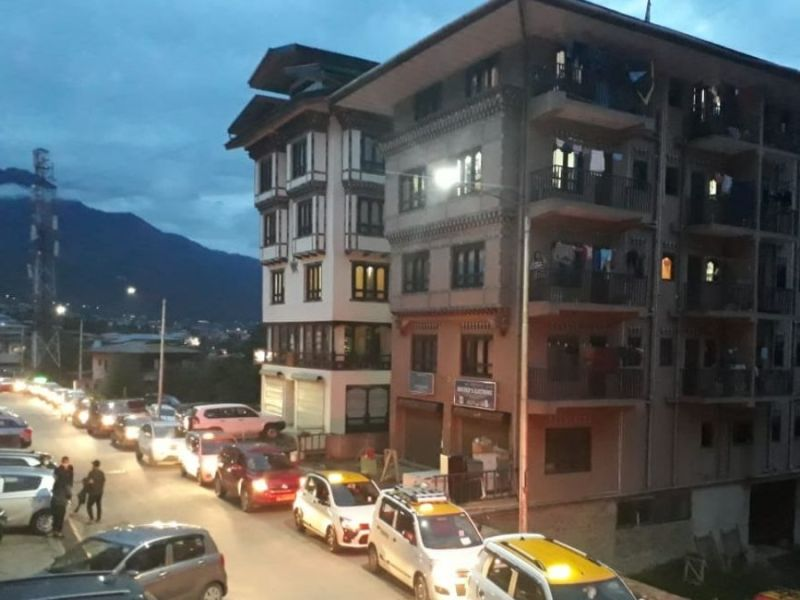 Lockdown in Thimphu, capital of Bhutan from today