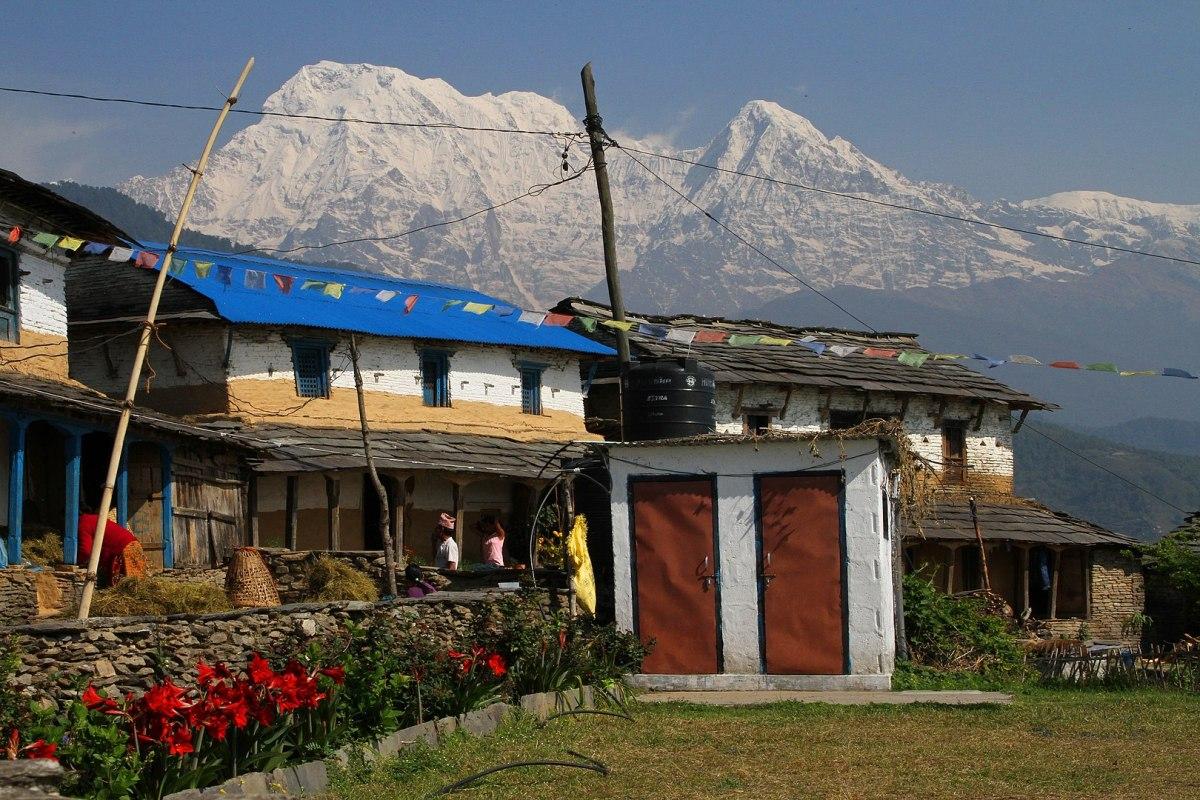 A top bureaucrat tweeted photo of Nepal's Dhampus Village as 'incredible Sikkim'