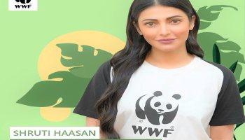 Shruti Haasan joins WWF India as brand ambassador