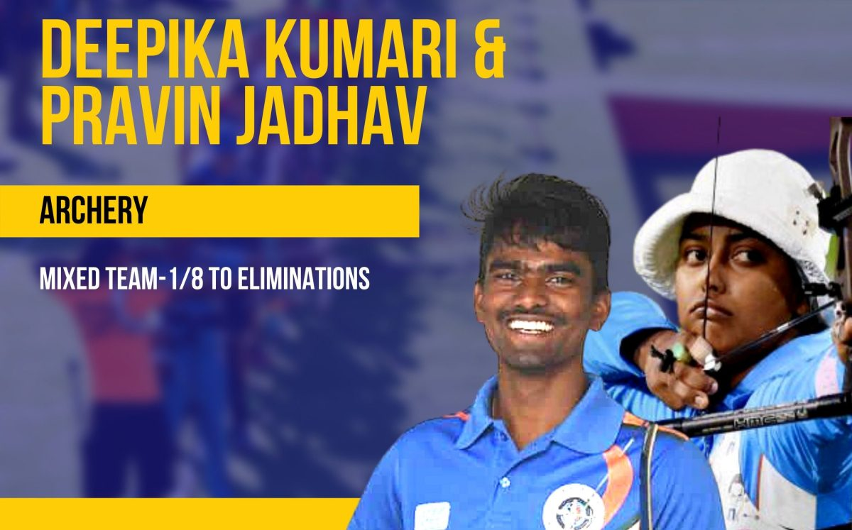 Archery: Inconsistent India lose to Korea, makes QF exit in mixed pair section