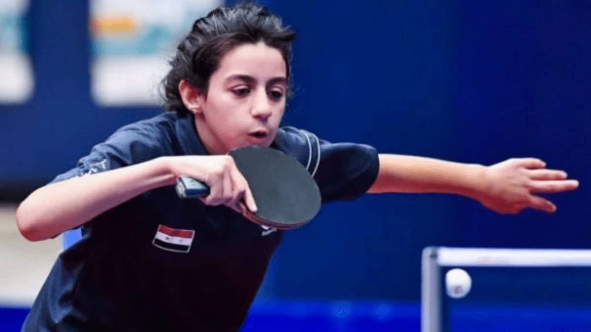 A 12-year old in the Tokyo Olympics? Meet Syria's Hend Zaza