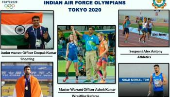 Five IAF personnel part of Indian contingent for Tokyo Olympics