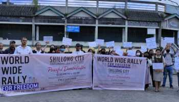 Meghalaya: NGO Awaken India Movement attempts to stage protest, stopped by cops