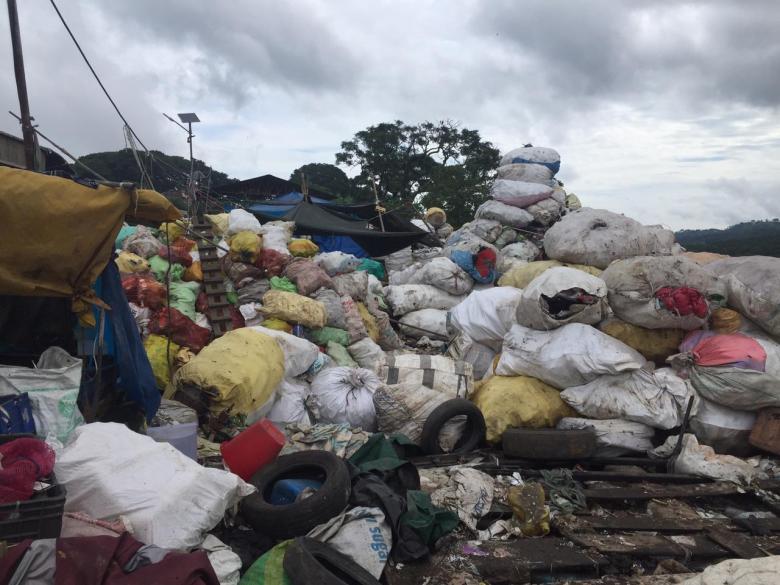 marten landfill site