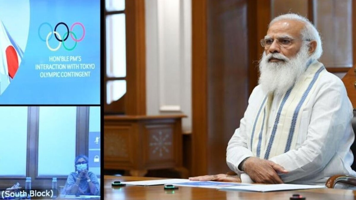 Modi reviews Olympic prep; to chat with Tokyo-bound athletes