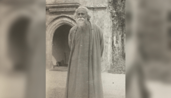 How do we derive happiness in learning from Tagore's ideals