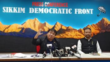 Sikkim is weakling in merger talks between Darjeeling-Sikkim: SDF