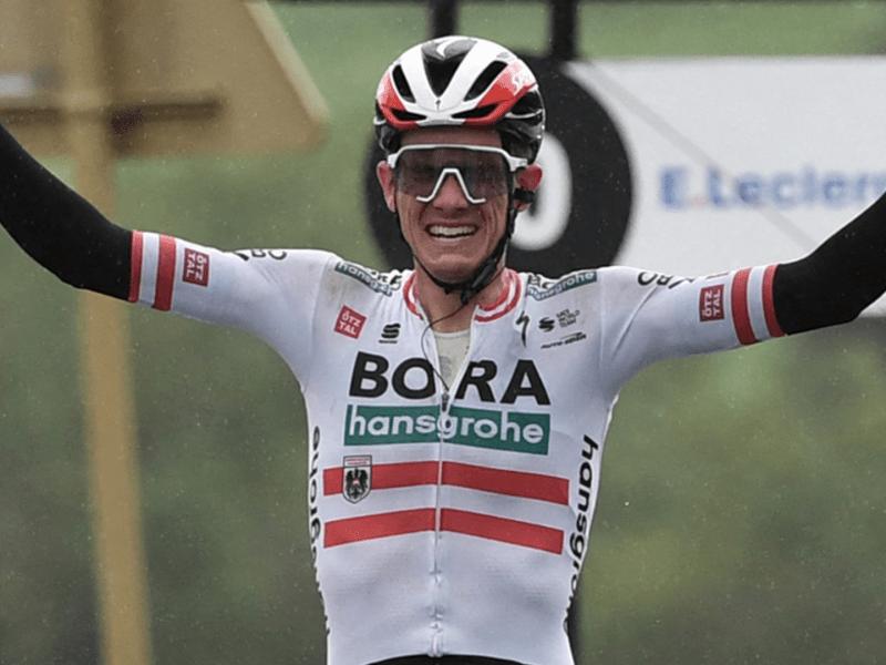 Tour de France: Patrick Konrad wins Stage 16, Pogacar keeps yellow jersey