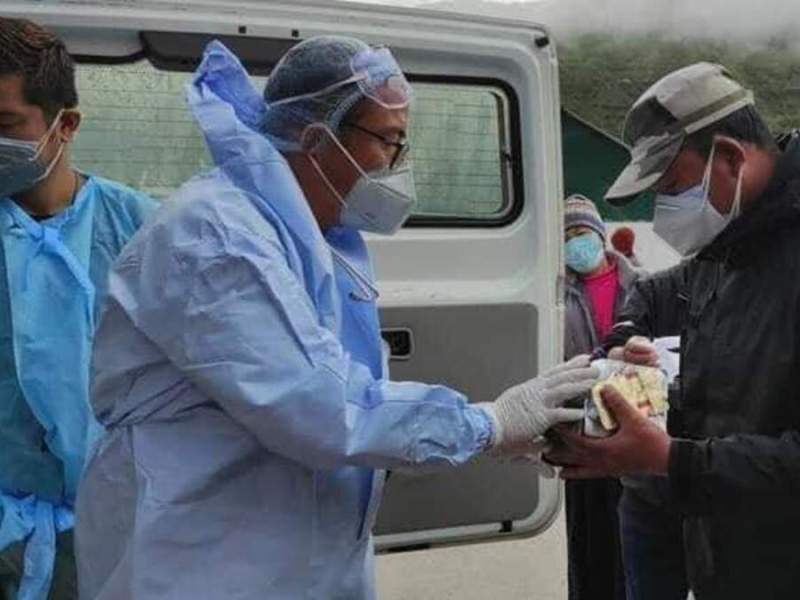 Sikkim: Case against doctor-politician Mechung Bhutia for entering containment zone