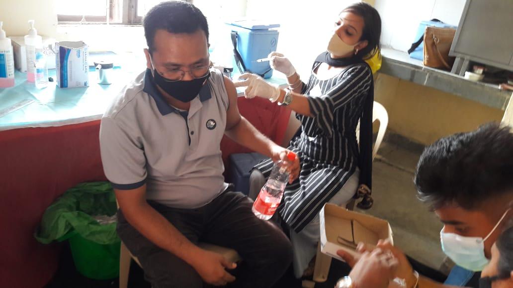 Robin Hibu's NGO helping Northeast folks in Delhi NCR get vaccinated