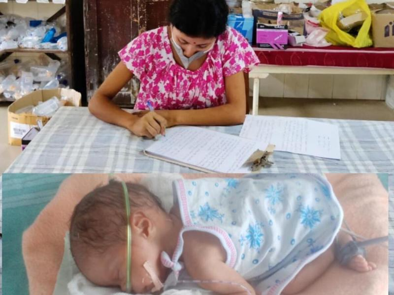 COVID-positive Assam woman takes exam while baby battles for life in NICU, wins hearts