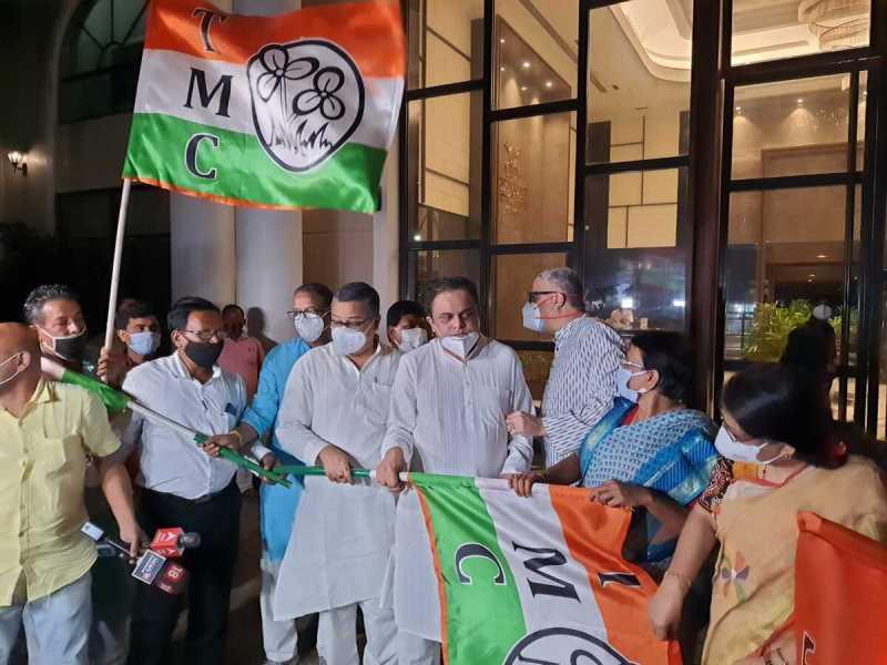 Tripura: Turncoat leader Subal Bhowmik returns to Trinamool Congress