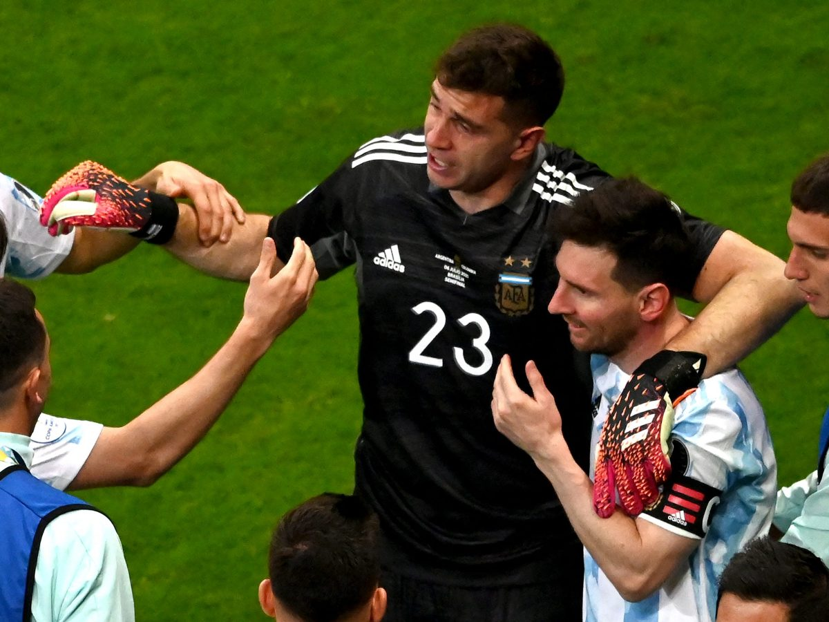 Argentina advances on penalties to Copa final against Brazil