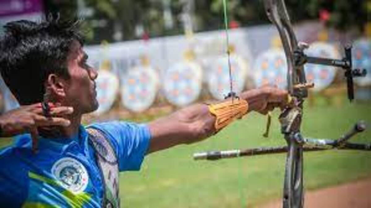 Indian archer Pravin Jadhav