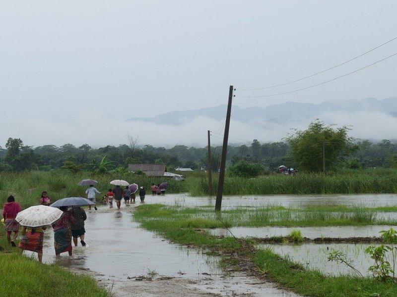 Monsoon remains focused on East-Northeast India; drastic shift on horizon next week