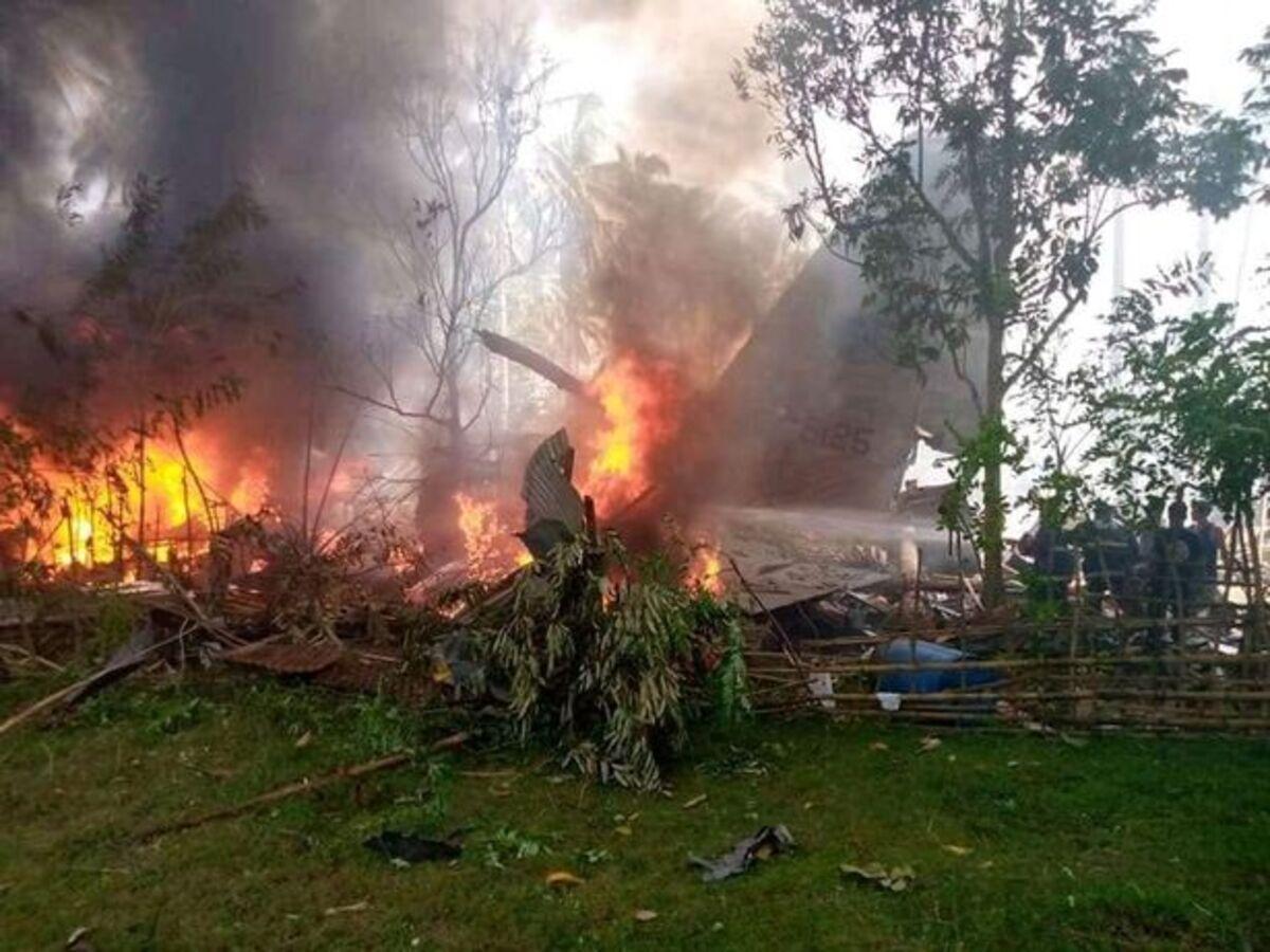 Death toll in Philippine military plane crash rises to 50