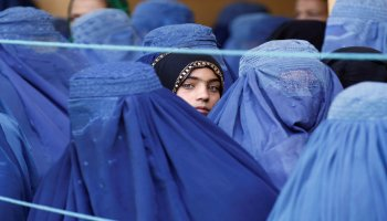 Afghan women's lives are now in danger from the Taliban but they have always faced male violence
