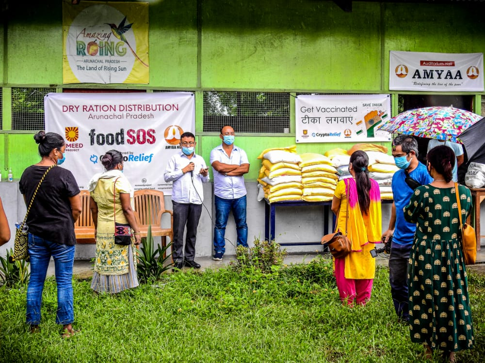 AMYAA NGO fights COVID-19, reaches out to remote villages of Arunachal