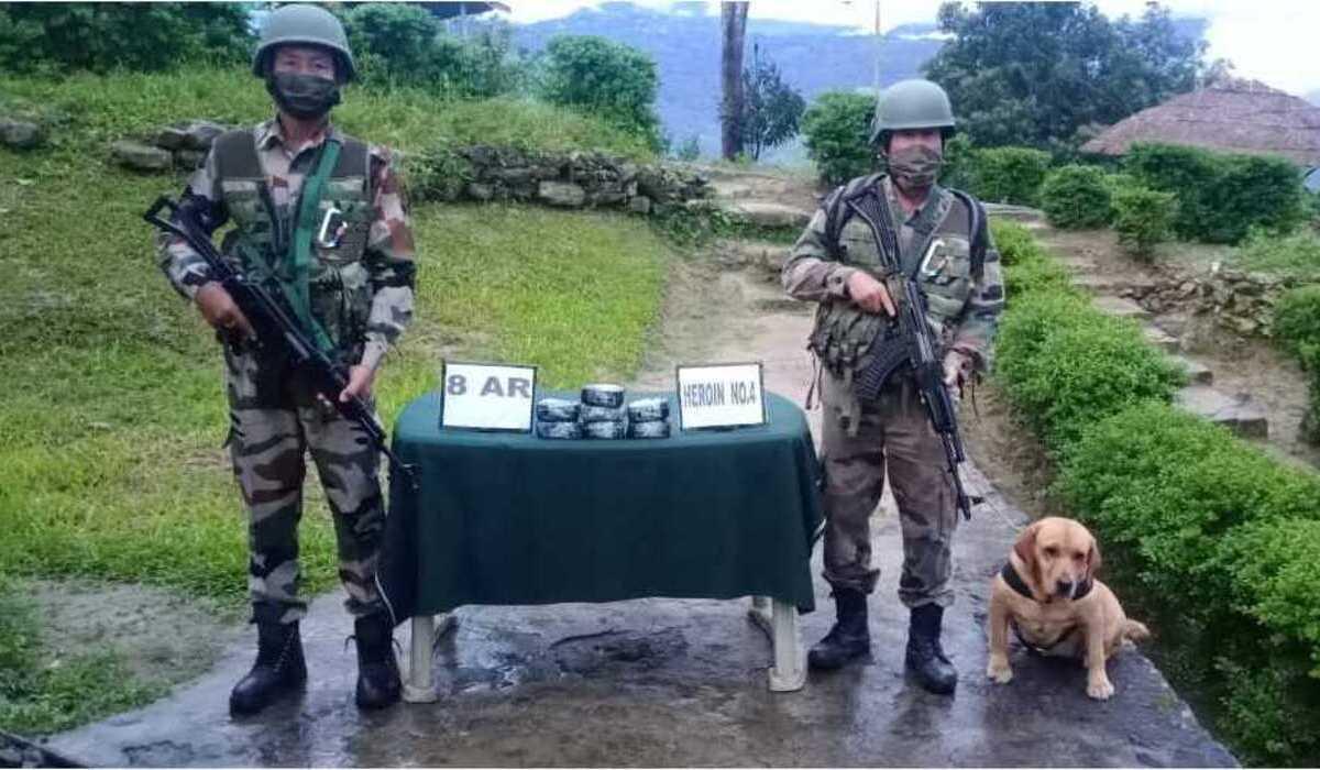 Mizoram: Heroin worth over Rs 47 lakh seized near Myanmar border