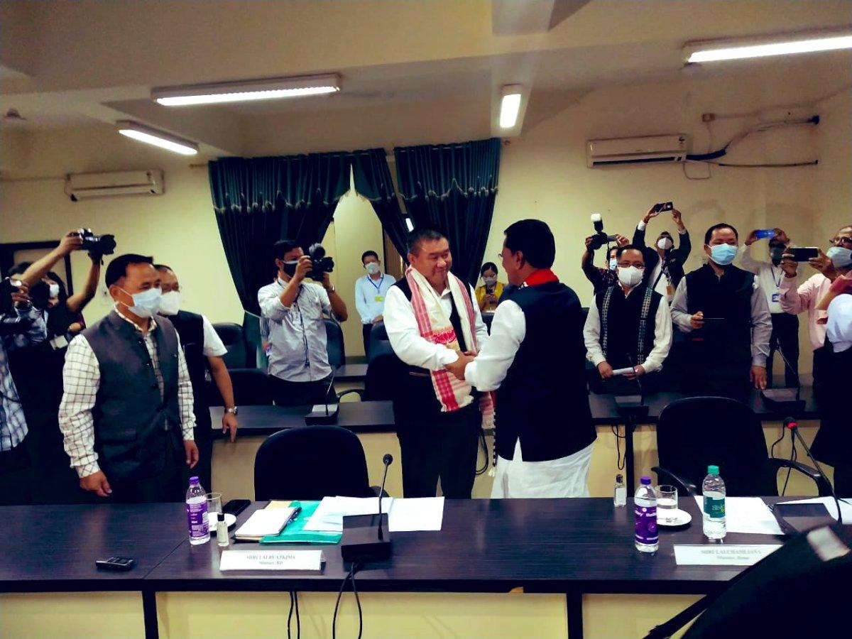 Mizoram, Assam agree to maintain peace along disputed border