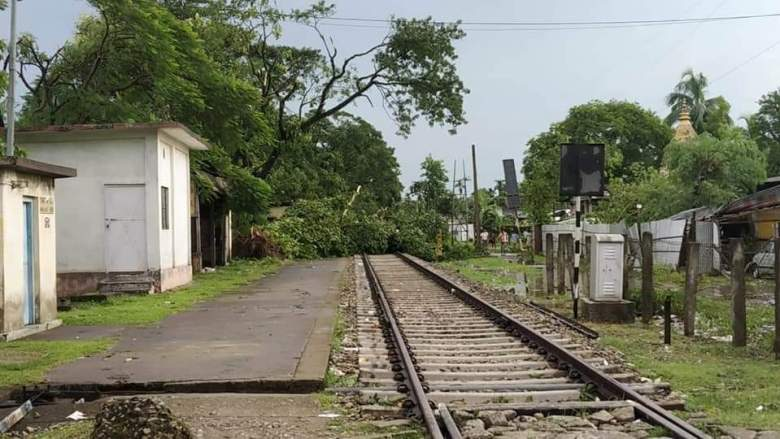 Storms leave behind a trail of destruction in Assam's Doomdooma