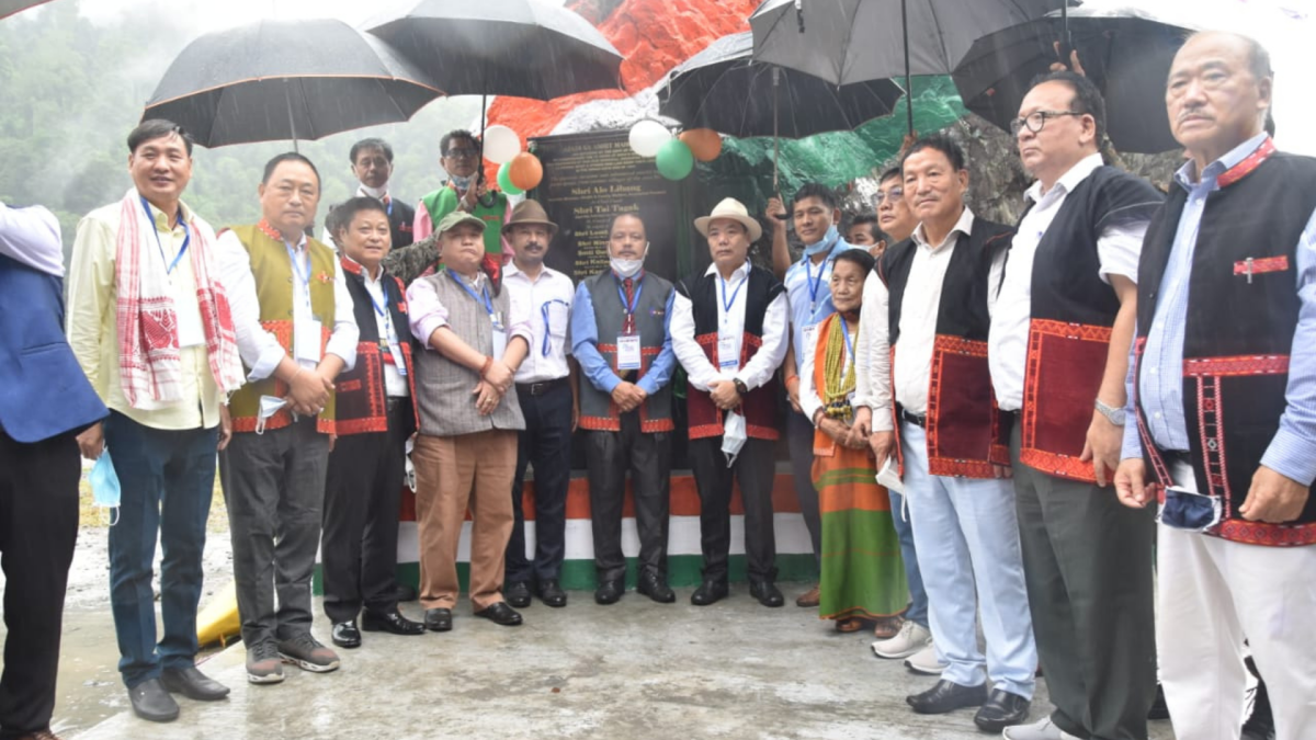 Arunachal: Health minister inaugurates memorial for Anglo-Abor War hero